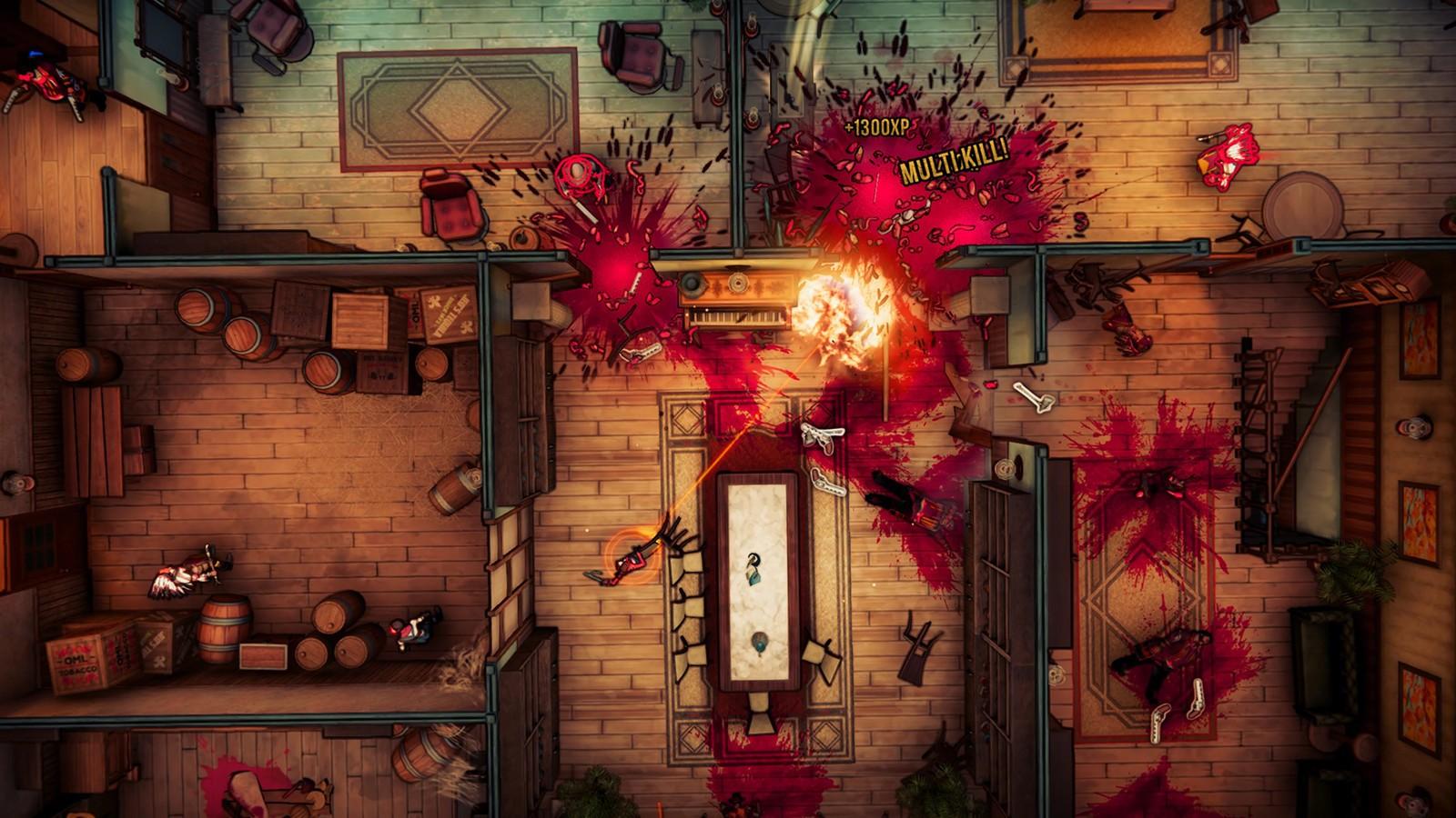 Dire che il sangue è il vero protagonista del gioco sarebbe scontato.
