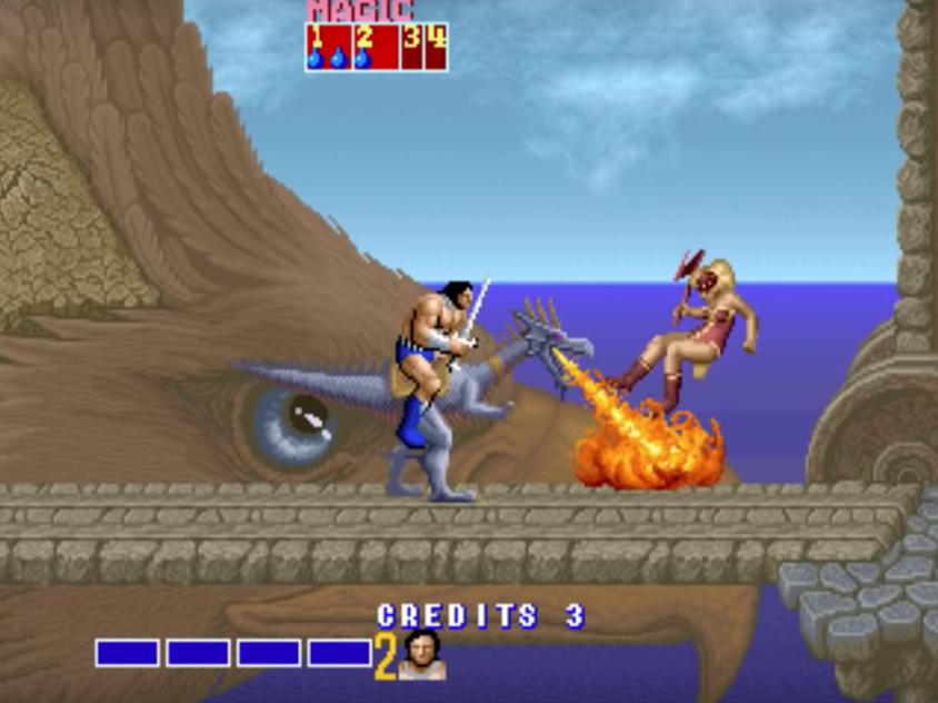 La testa dell'aquila, nel quinto livello, è nettamente uno dei momenti WTF del gioco.