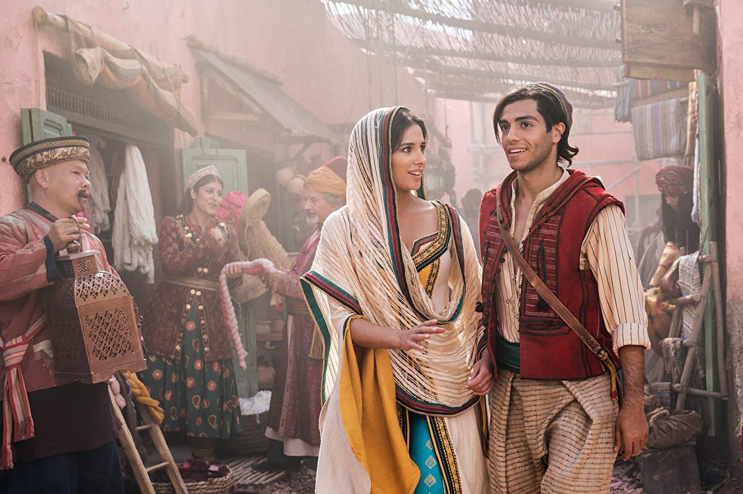 Aladdin e Jasmine non sono male, al netto dell'effetto cosplay.