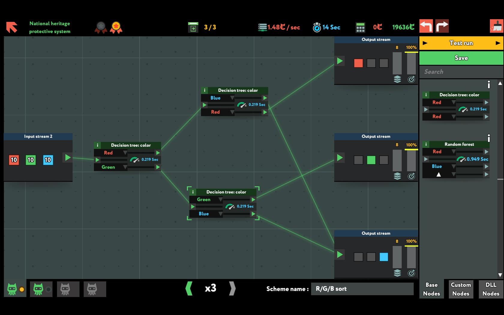 L'interfaccia è piuttosto chiara, ma l'assenza di varietà, sia risolutoria che grafica, inizia a pesare dopo un paio d'ore di gioco.