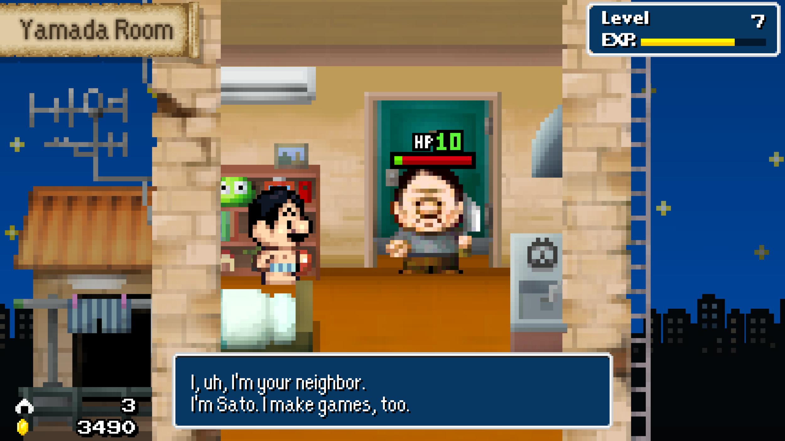Gli intermezzi nonsense sono la parte migliore del gioco.