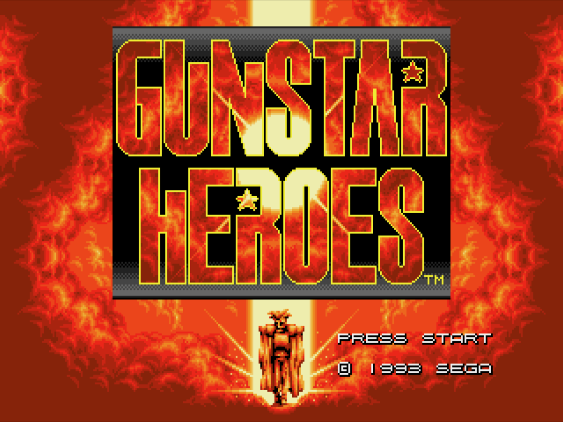 Già il logo era un piccolo capolavoro di pixel art. Anche se non ho mai capito chi fosse il tizio al centro.