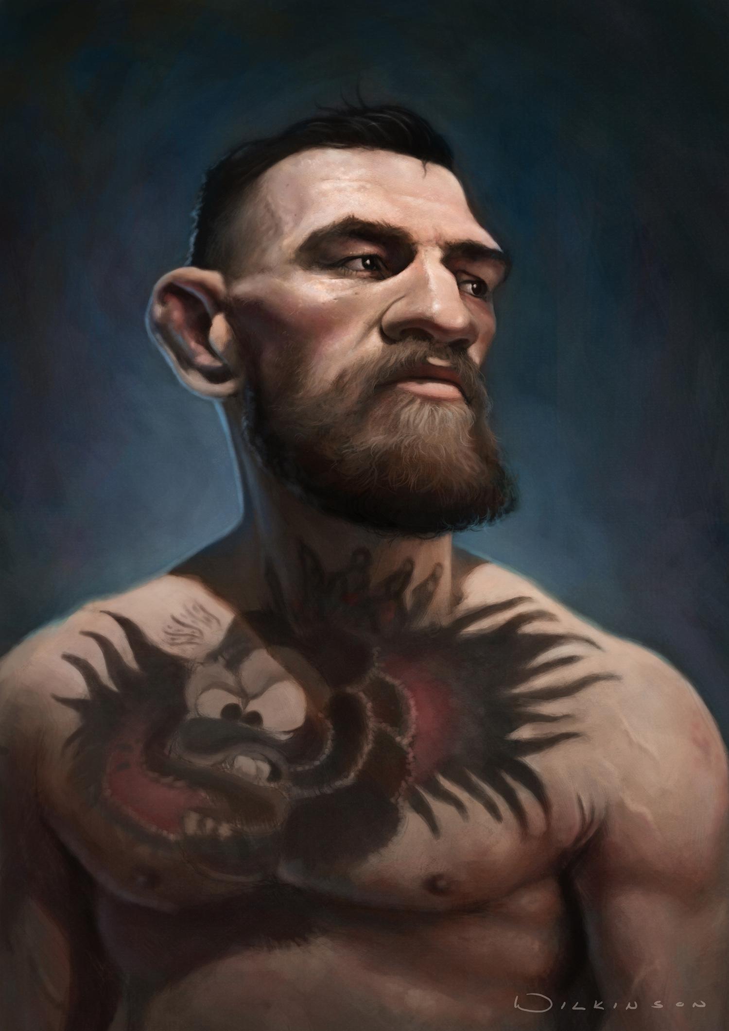 Conor McGregor Caricature