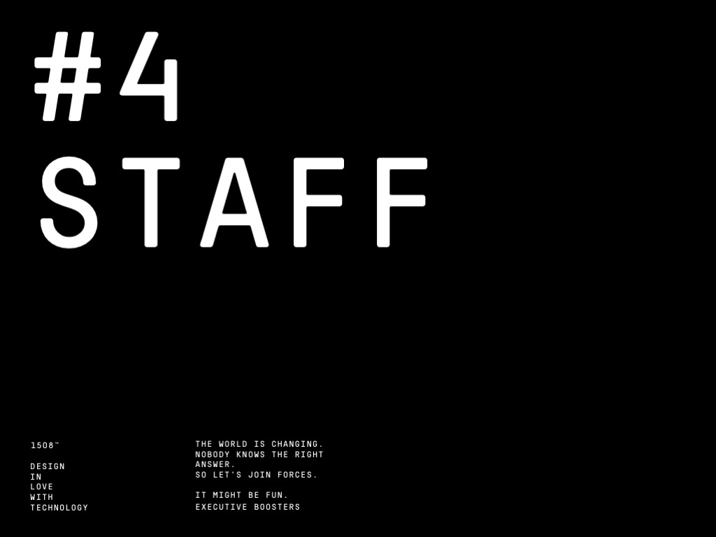 Morgenbooster Executive: Staff