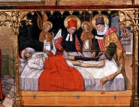 Алтарь святых Абдона и Сенена