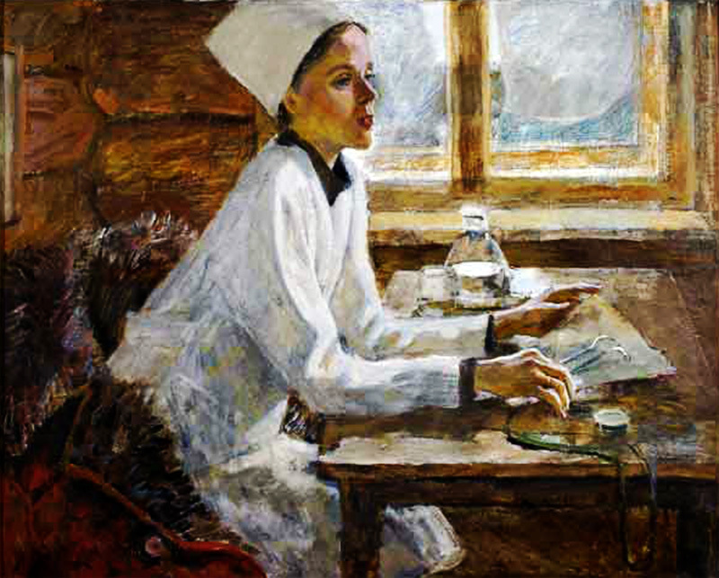 Александр Романычев Сельский врач 1987 г..jpg