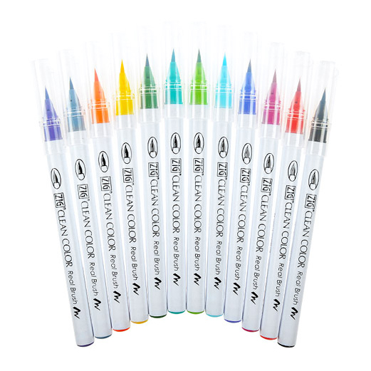 "<p><strong><a href=""http://amzn.to/2ciKPh1"" target=""_blank"">Kuretake Watercolour Brush Pens</a></strong>$74.00</p>"
