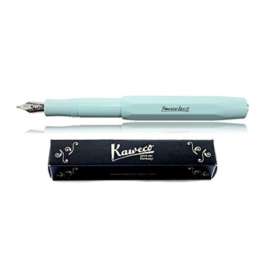 "<p><strong><a href=""http://amzn.to/2y2Crka"" target=""_blank"">Kaweco Skyline Fountain Pen</a></strong>$25.00</p>"