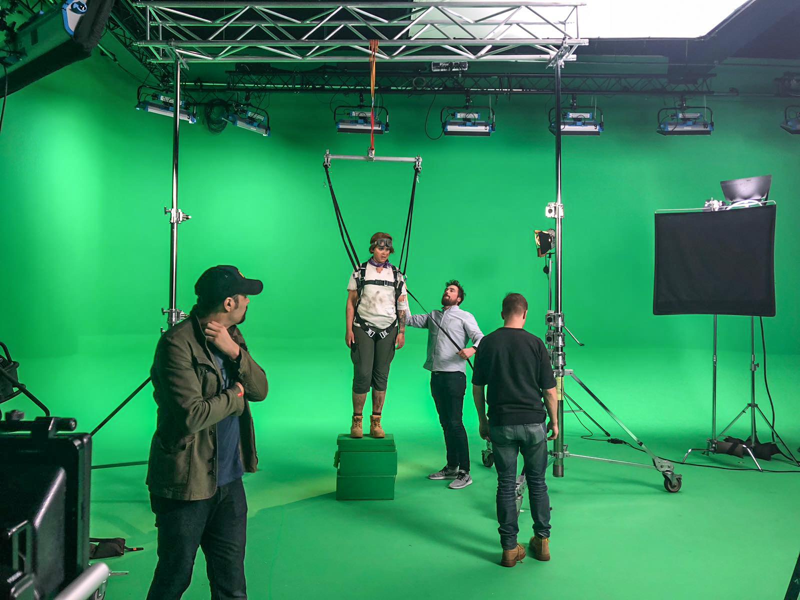 Pallon Ympäri Behind The Scenes