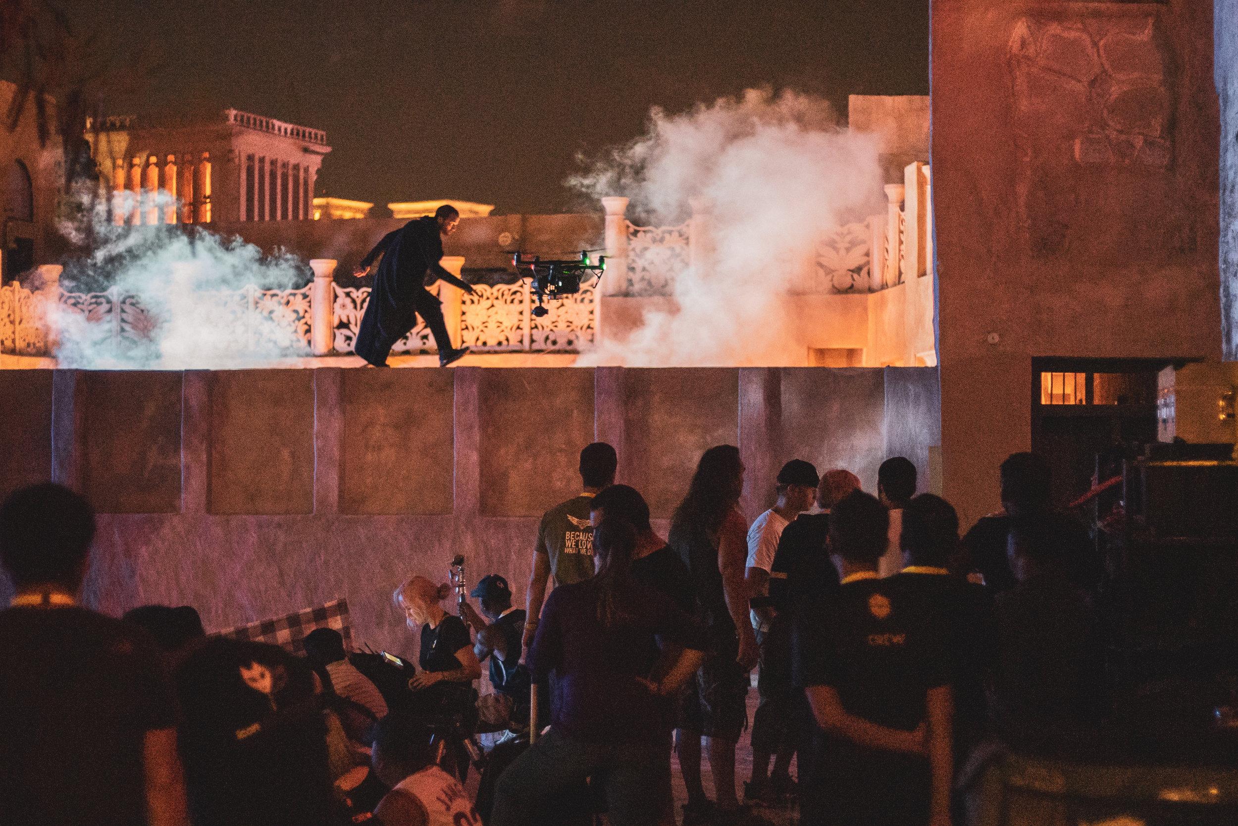 Parkour Shoot in Dubai