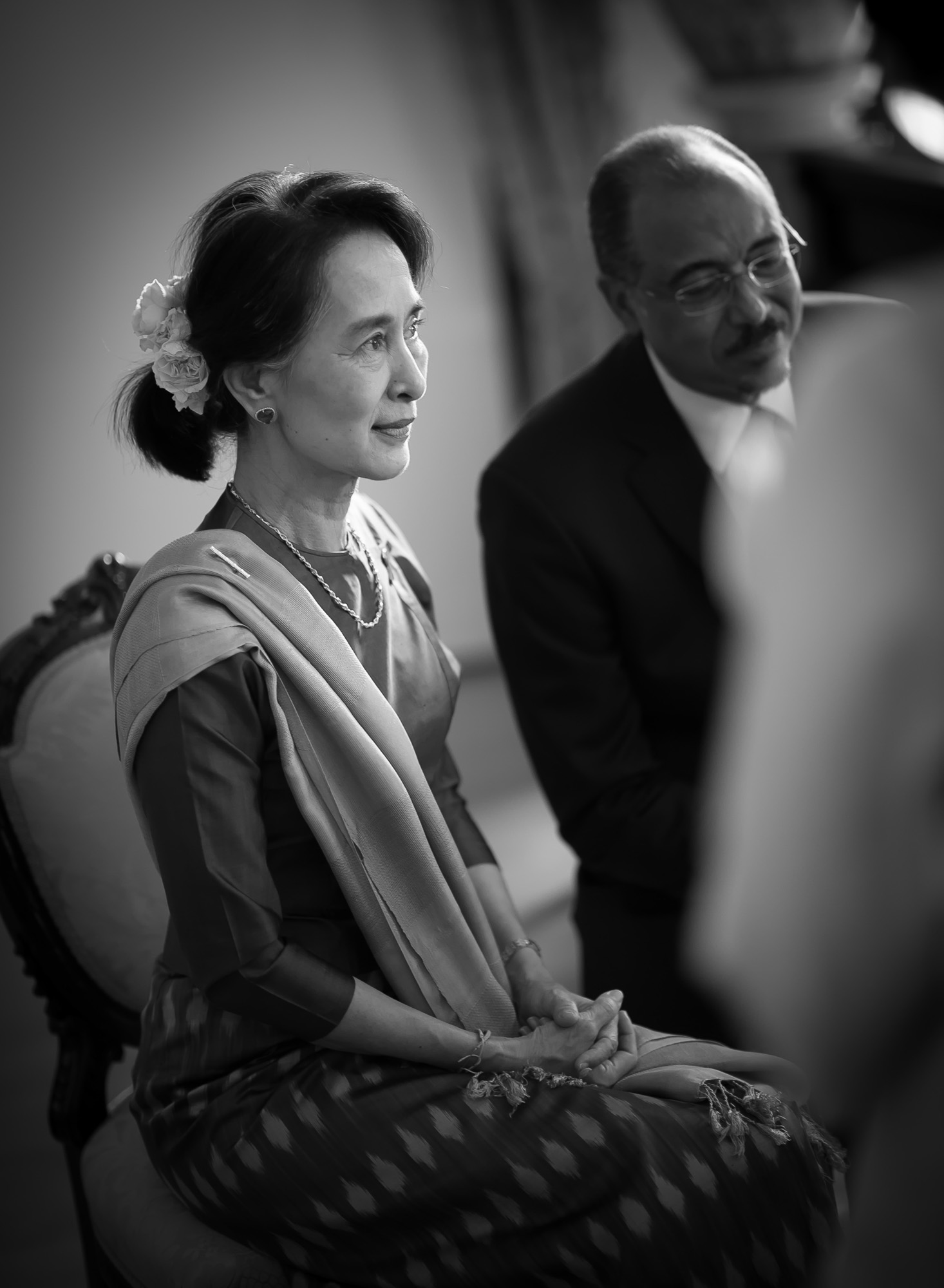 The visit of Aung San Suu Kyi