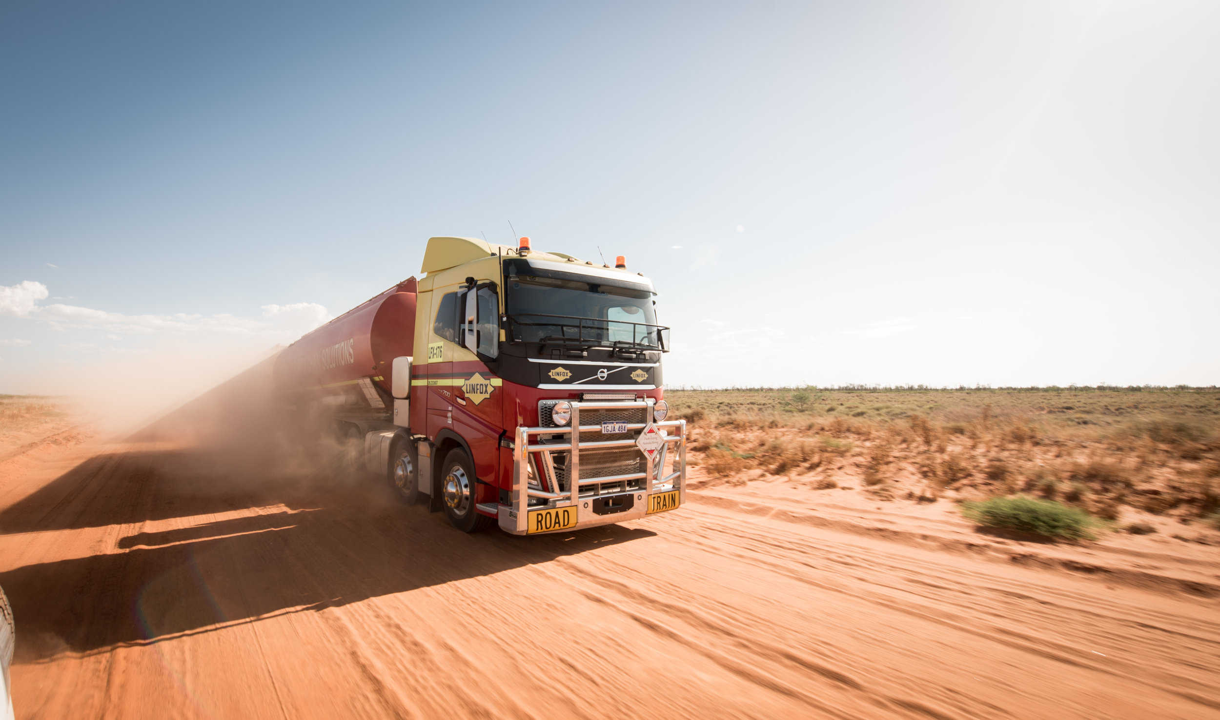 Client: Volvo Trucks and Linfox