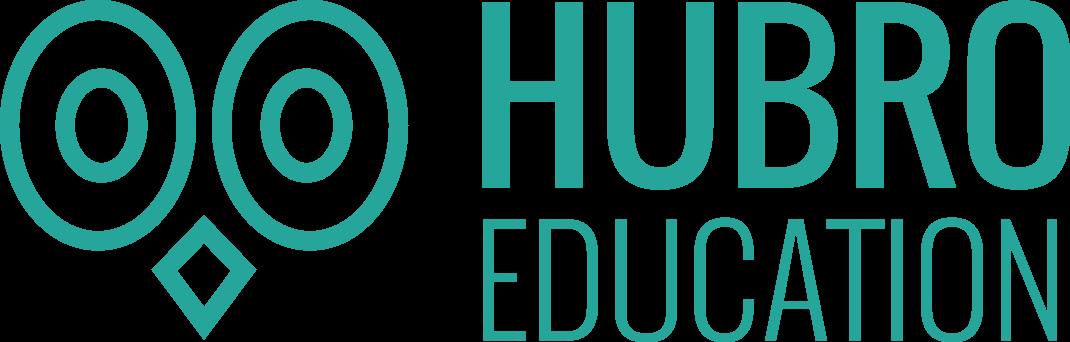 Hubro logo horisontal to linjer turkis (1).png