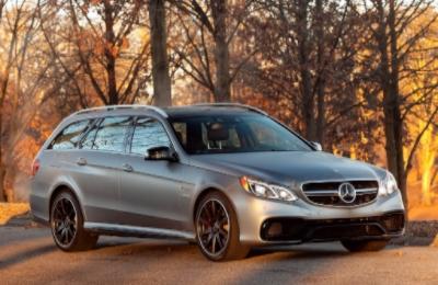 Mercedes E63 AMG Estate ( Image:Dan Neil/The Wall Street Journal)