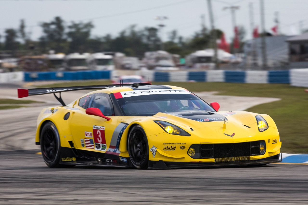 The title-winning C7.R at Sebring in 2016 (Image:  Chevrolet )