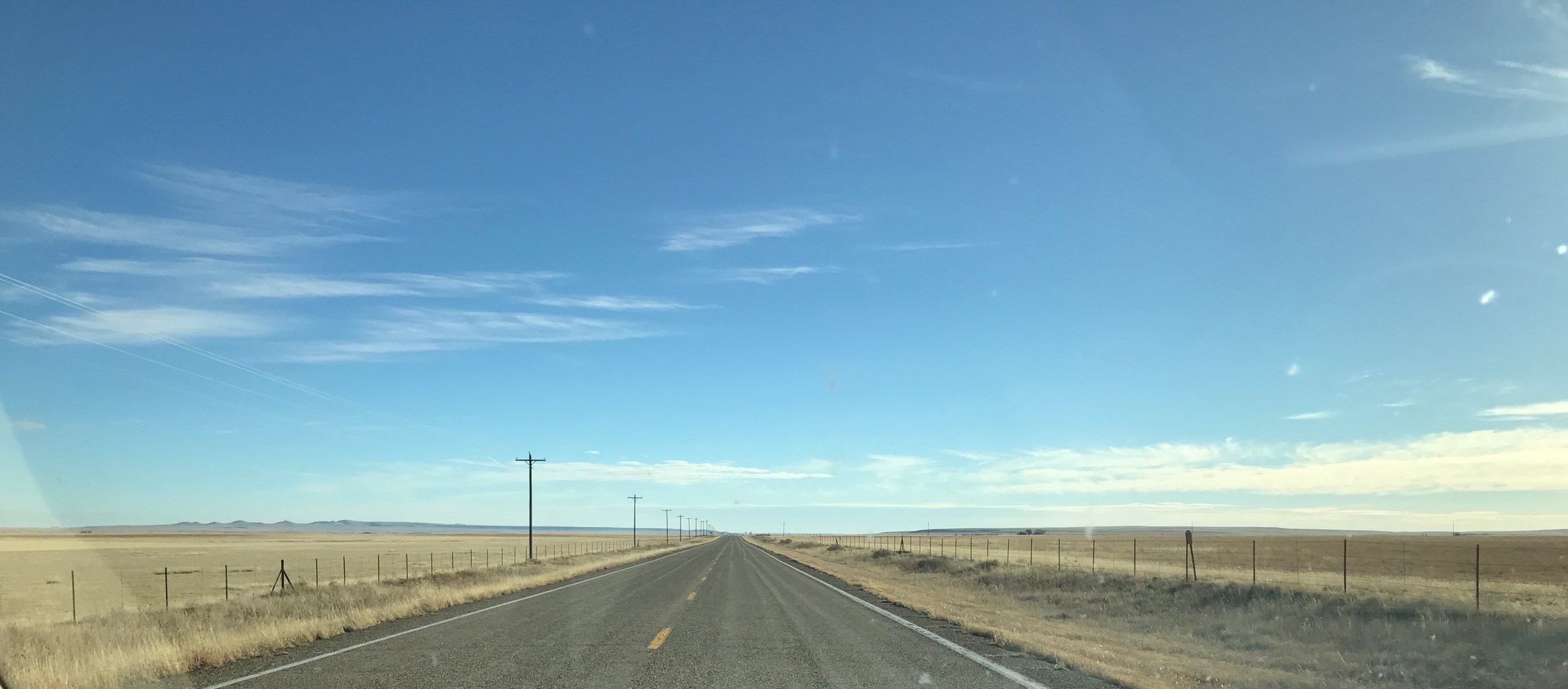"""The Road Goes On Forever"" in the Great American West. (Image:  KanonOnCars.com)"