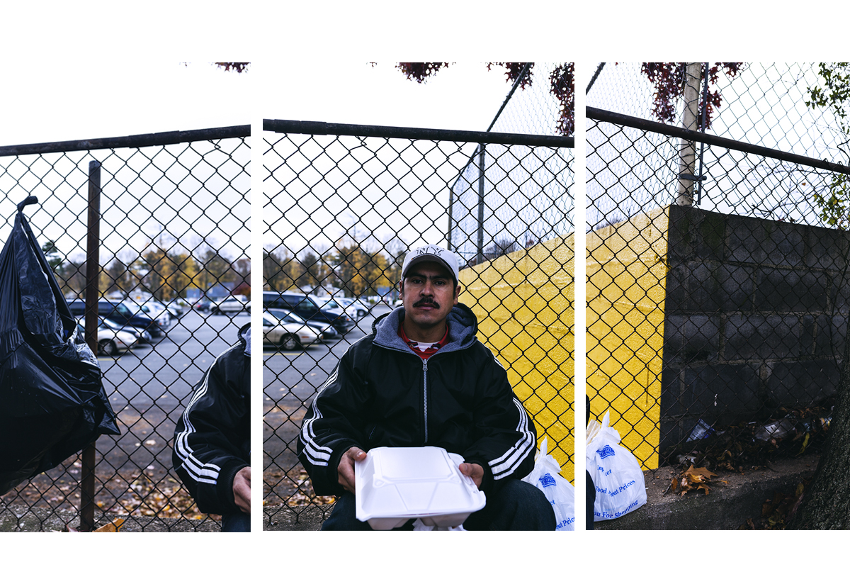 """Francis Paredes was born in Honduras: """"I'm thankful for so much: for being here, for having God on my side."""" Brentwood, NY. November, 2016."""