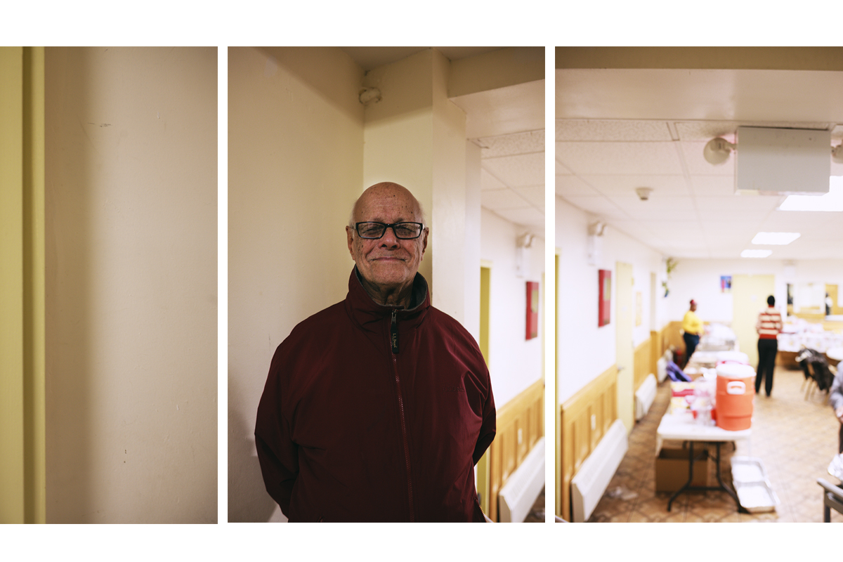 """""""I am thankful for a land that observes religious liberty"""". Jaswant Kapur was born in Mumbai, India. He came to the US more than 20 years ago.  Brooklyn, NYC. November, 2016."""