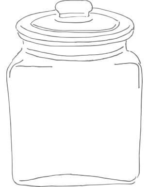 biscottiera disegno
