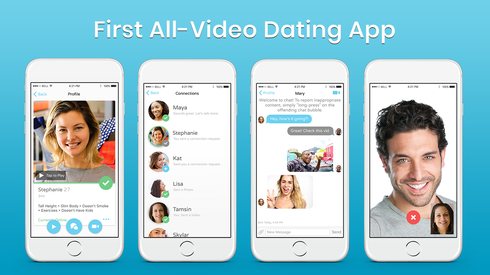 New dating app bubble