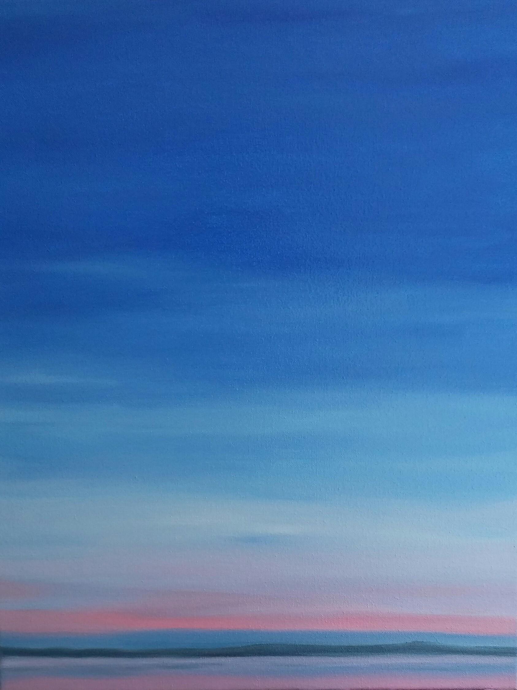 Blue & Pink Sunset