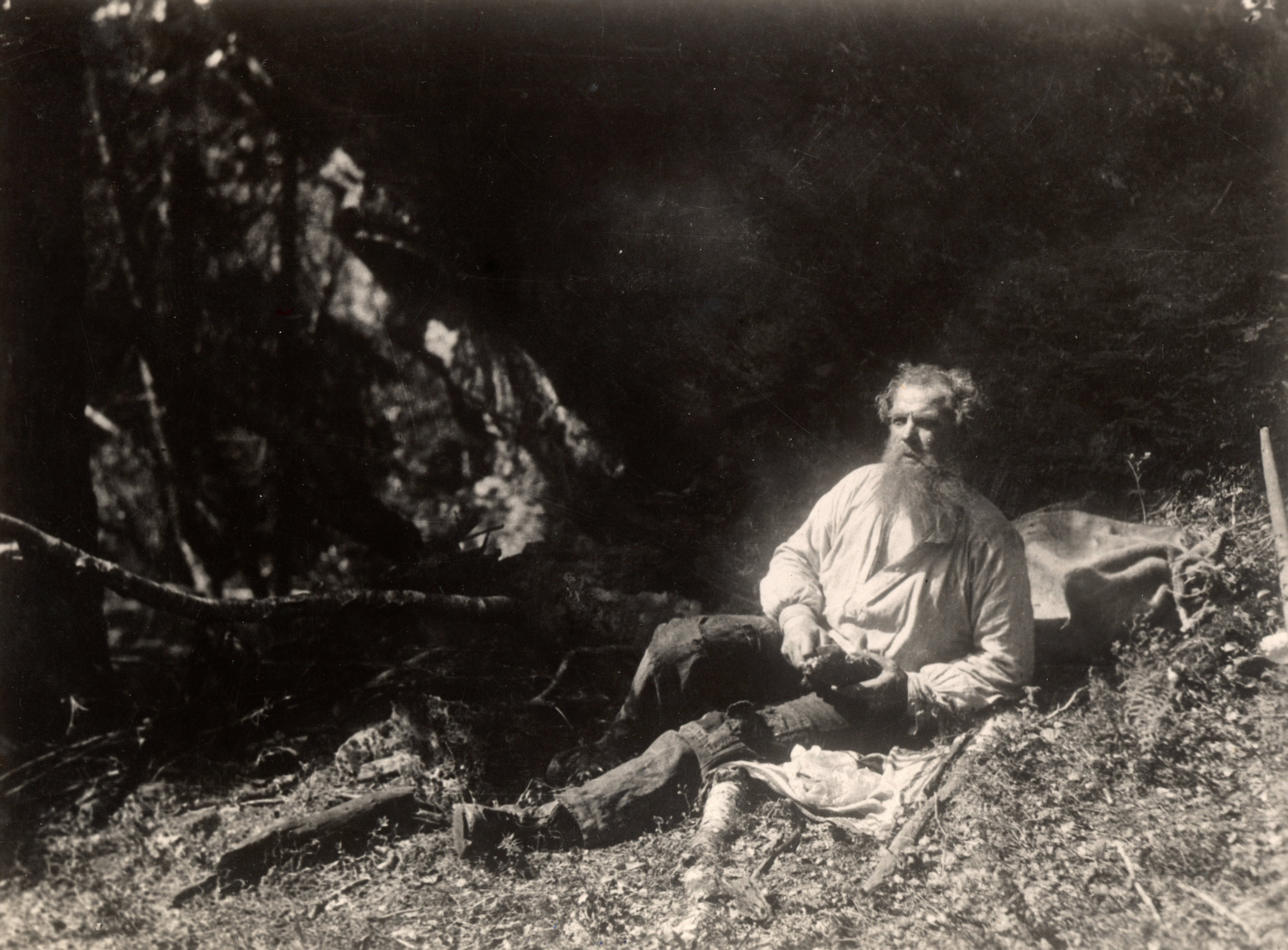 Fra Markens Grøde, 1922. Foto: Nasjonalbiblioteket