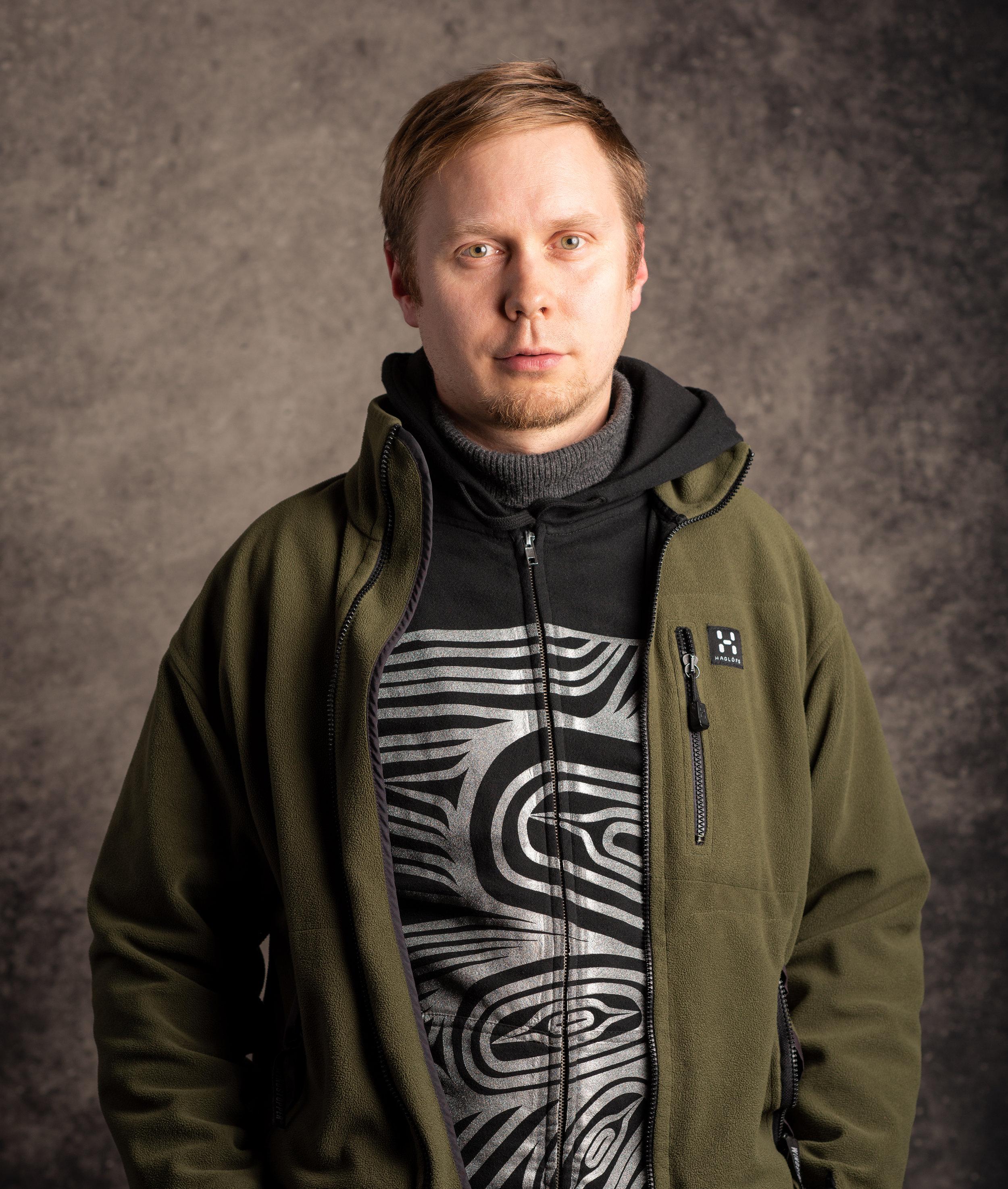 Matti Aiko. Photo: Petvin Sandström