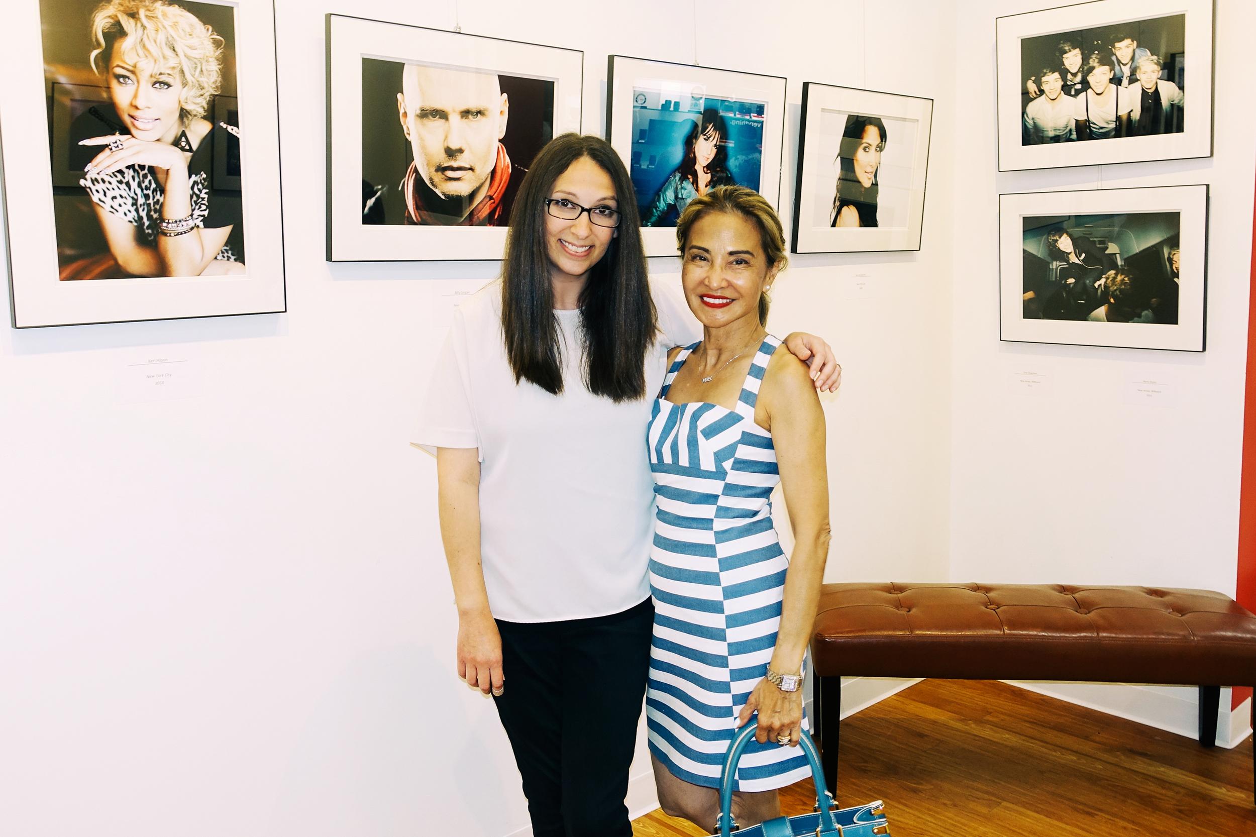 Diana Levine and Madeleine Capino
