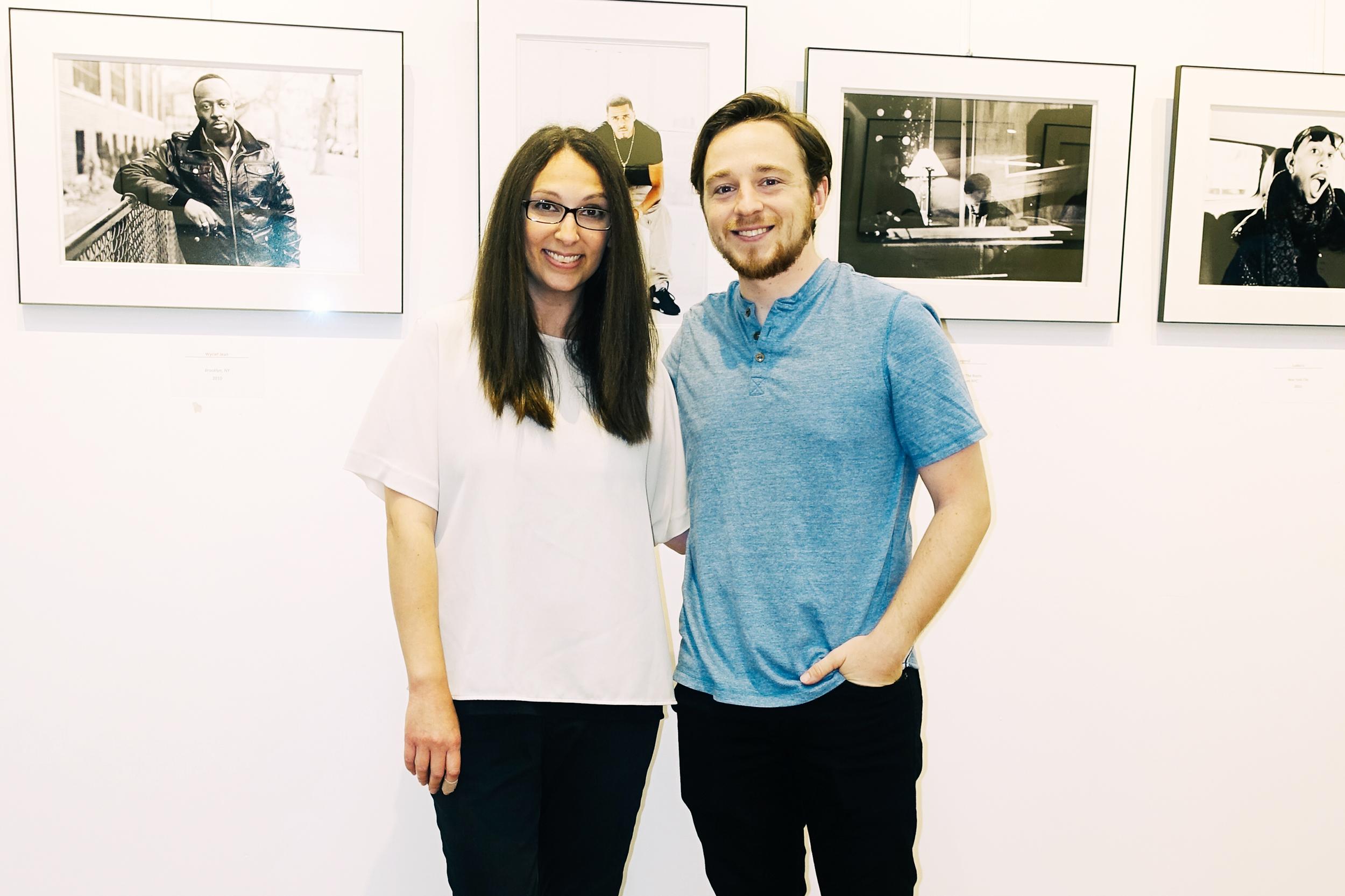 Diana Levine and filmmaker Mark Gilday Jr.