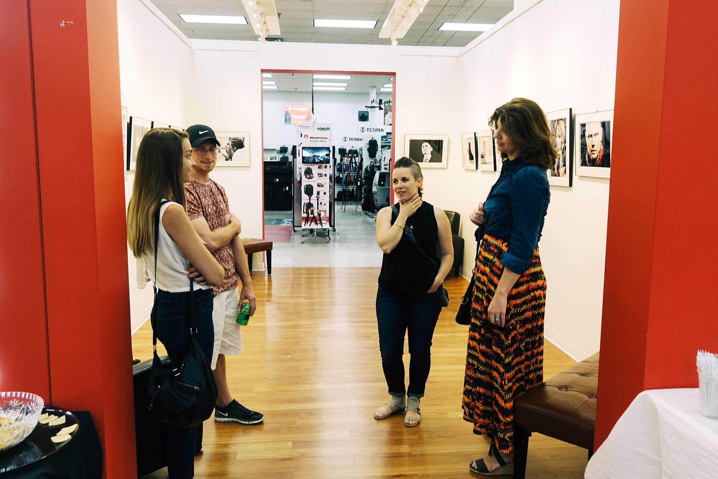 Photographers Christina Cobb, Alyssa Stone, and Christine Passler
