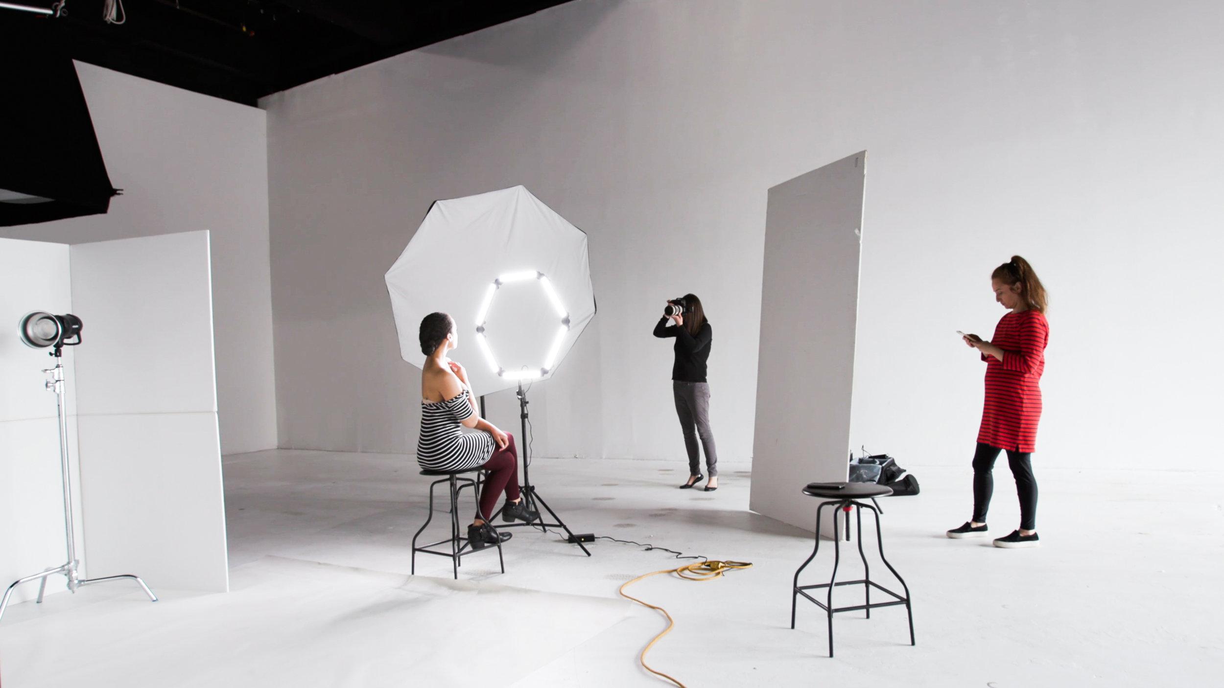 Behind-the-scenes: Boston Magazine photo shoot for Best of Boston 2019. Photographer: Diana Levine