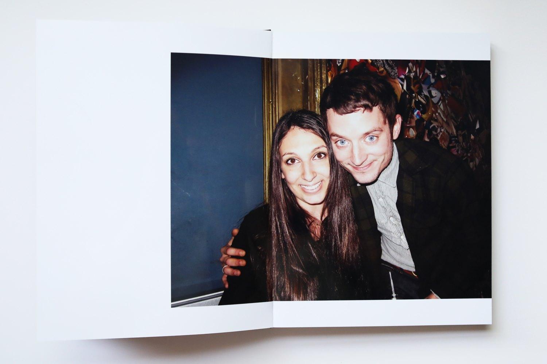 Behind the scenes: Diana Levine and Elijah Wood