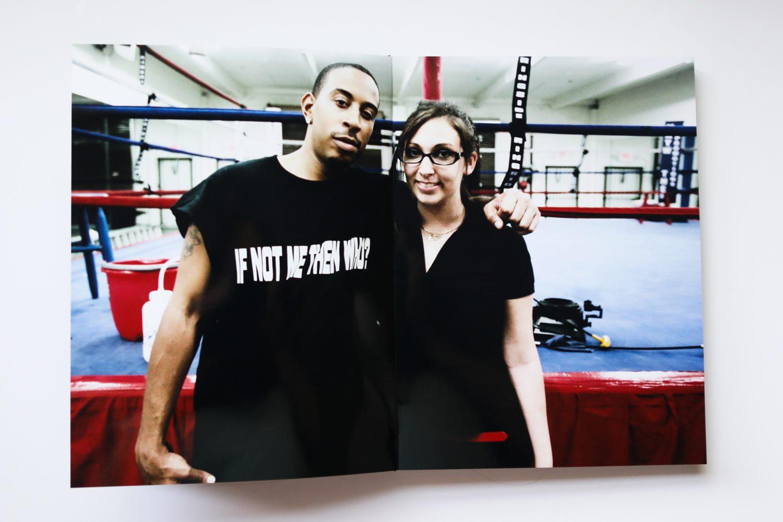 Behind the scenes: Diana Levine and Ludacris