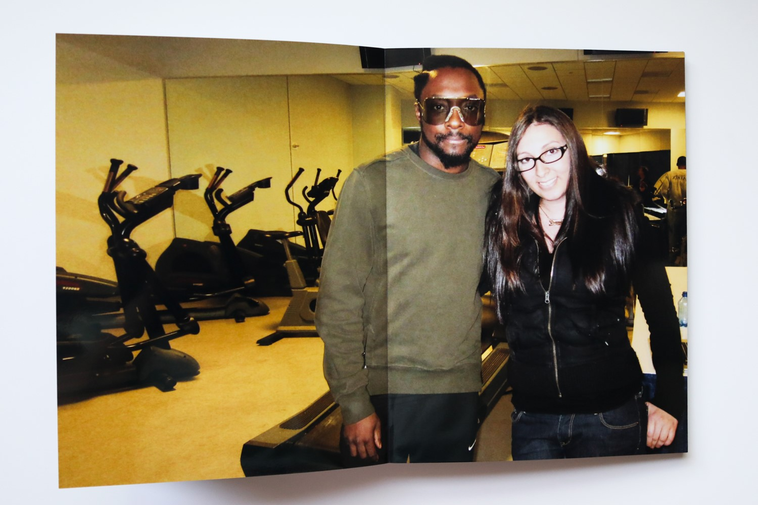 Behind the scenes: Diana Levine and Will.i.am of the Black Eyed Peas