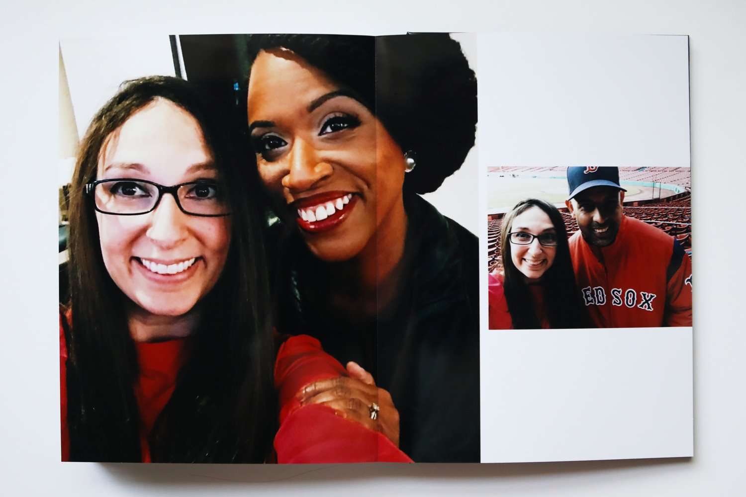 Behind the scenes: Diana Levine and Ayanna Pressley and Alex Cora at Fenway Park