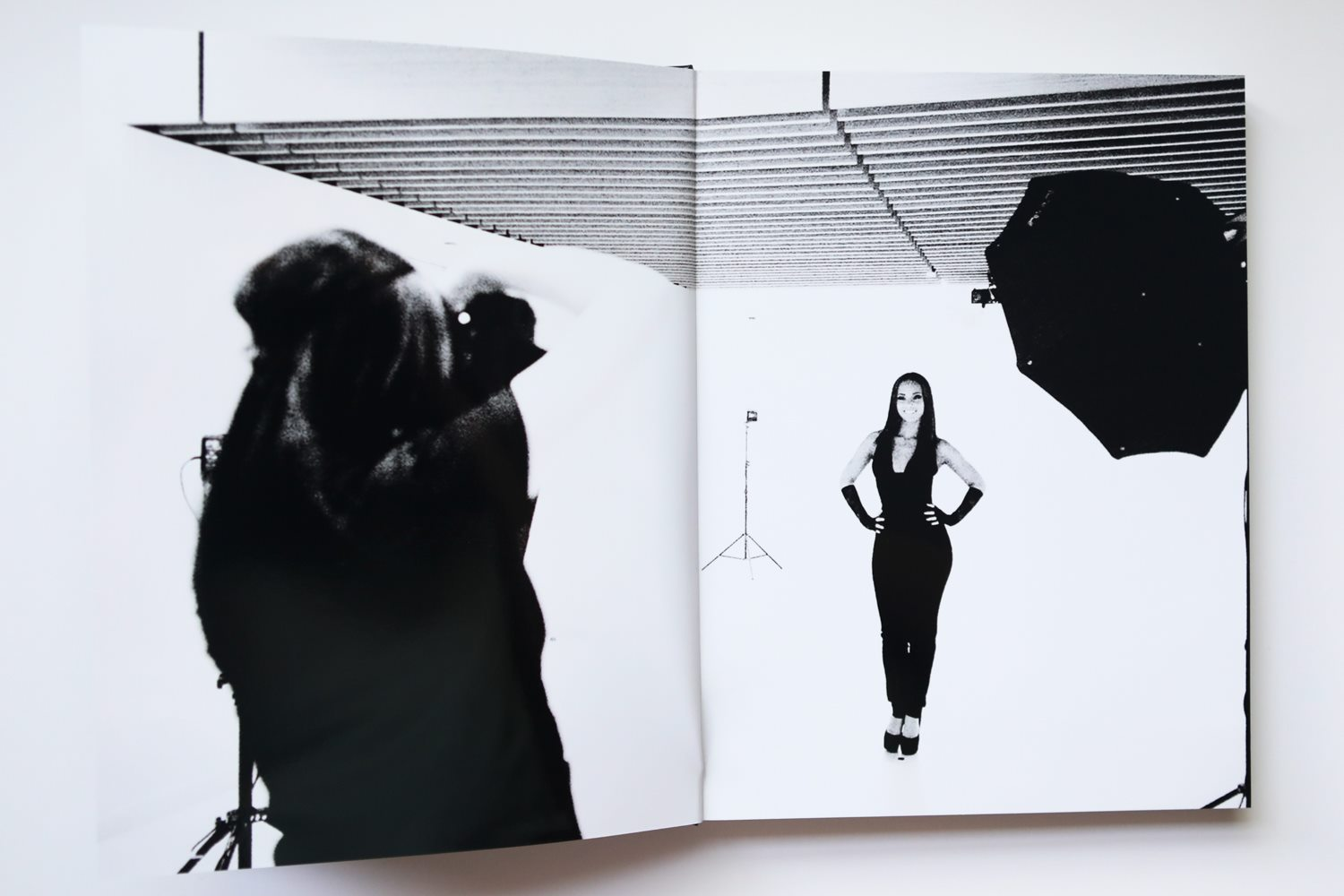 Behind the scenes: Diana Levine photographing Alicia Keys