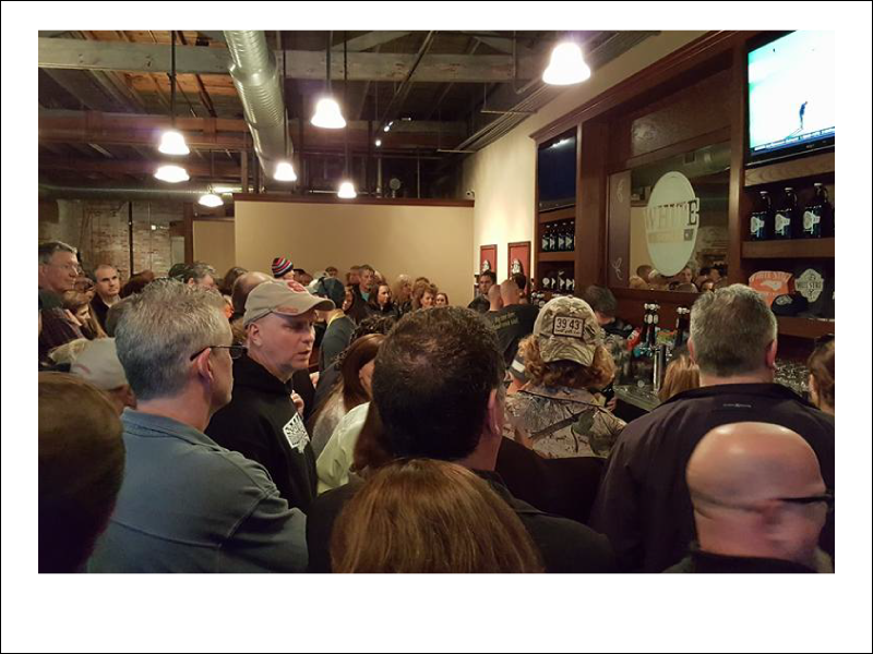 The taproom is full of your friends, some you haven't met yet.