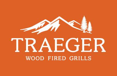 TRAEGER_LOGO-white on orange