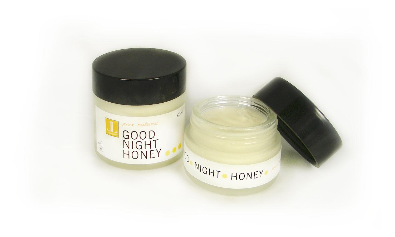 Good Night Honey Cream Features Honey and Hydrofoils