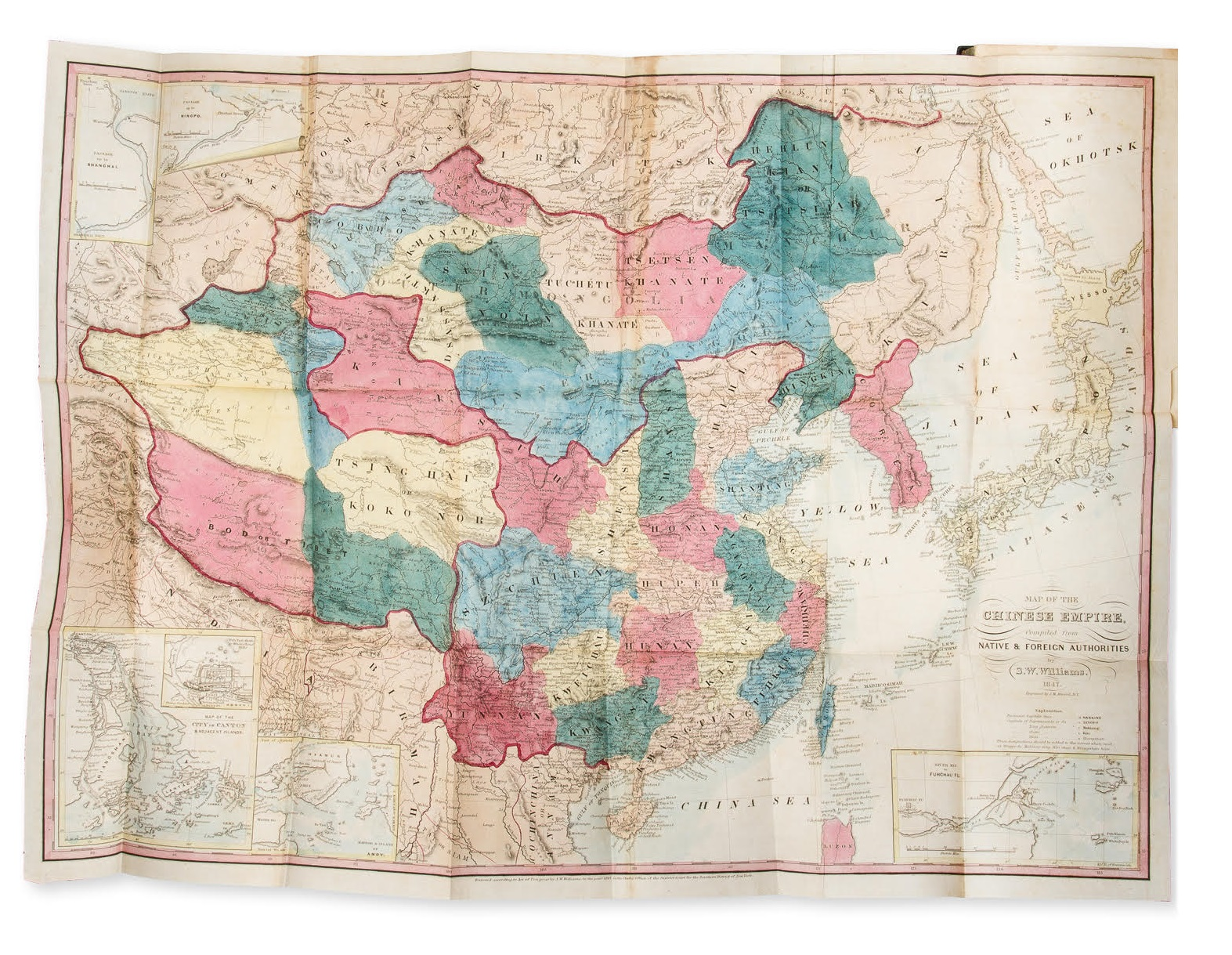 WILLIAMS, A Chinese commercial guide, 1856