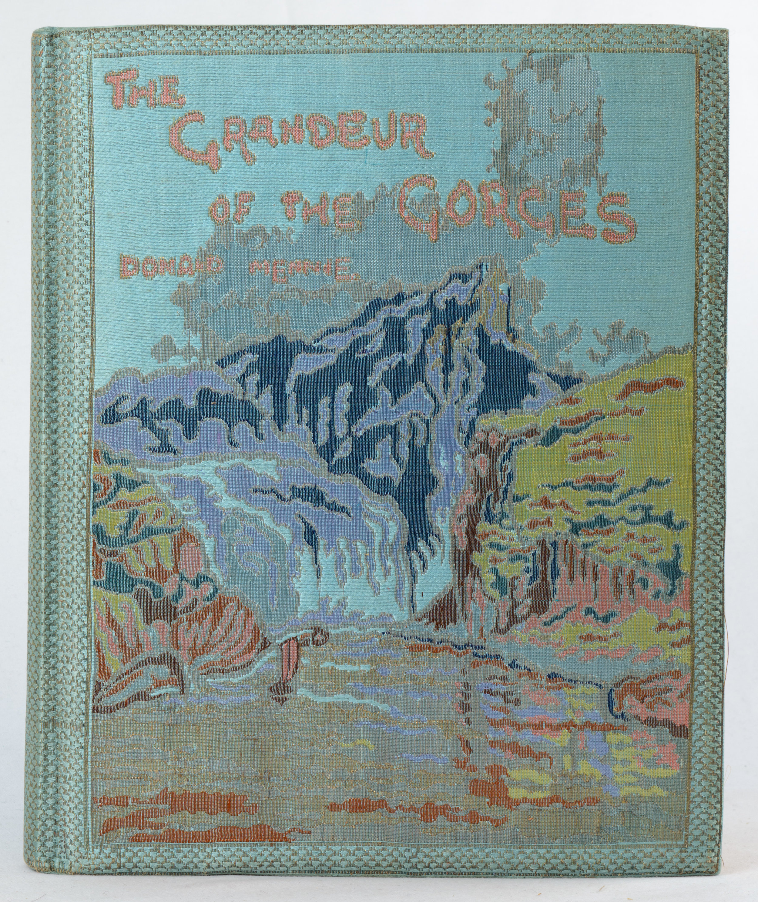 Mennie, Donald. (From Photographs by).   The Grandeur of the Gorges. Fifty Photographic Studies, With Descriptive Notes, of China's Great Waterway, The Yangtze Kiang, Including Twelve Hand-Coloured Prints.