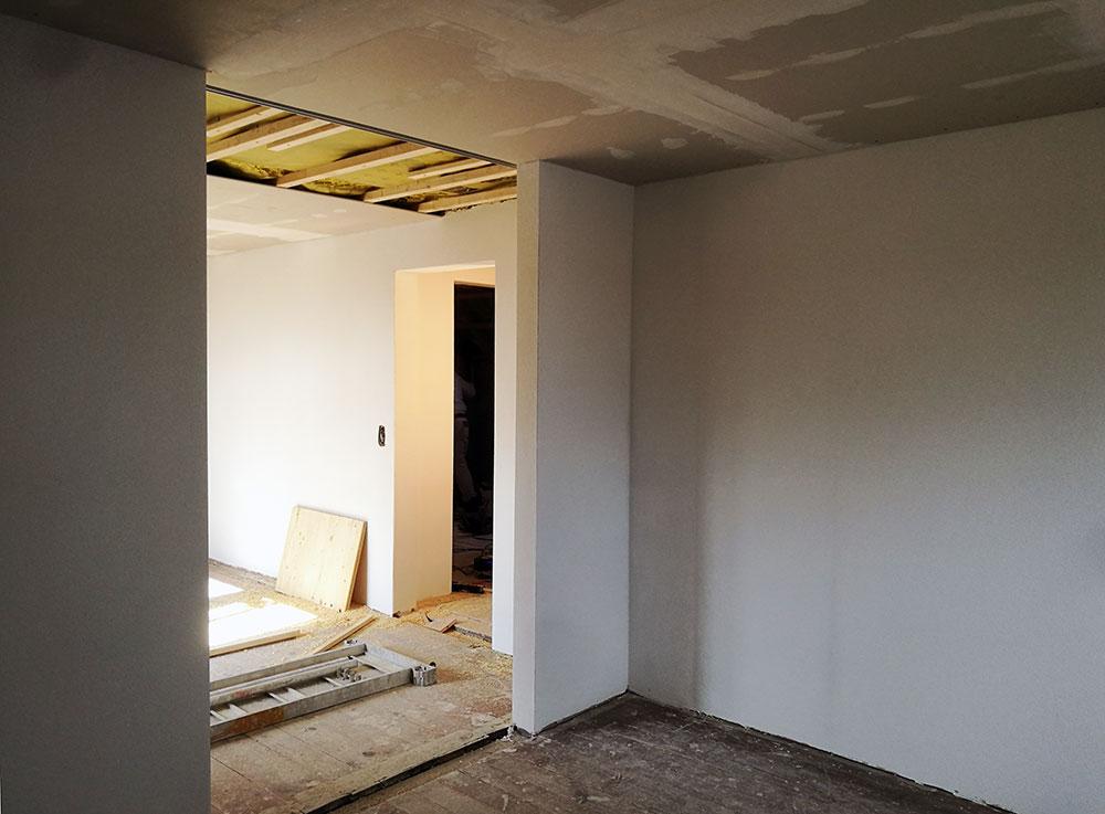 Obergeschoss begehbarer Schrank