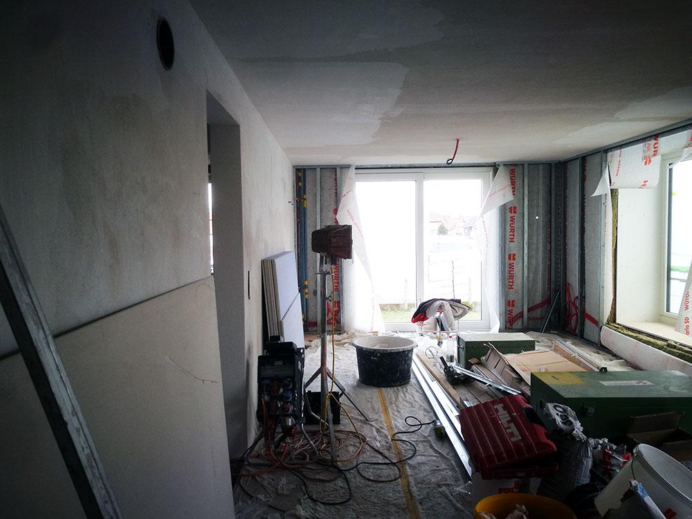 Erdgeschoss Wohnraum