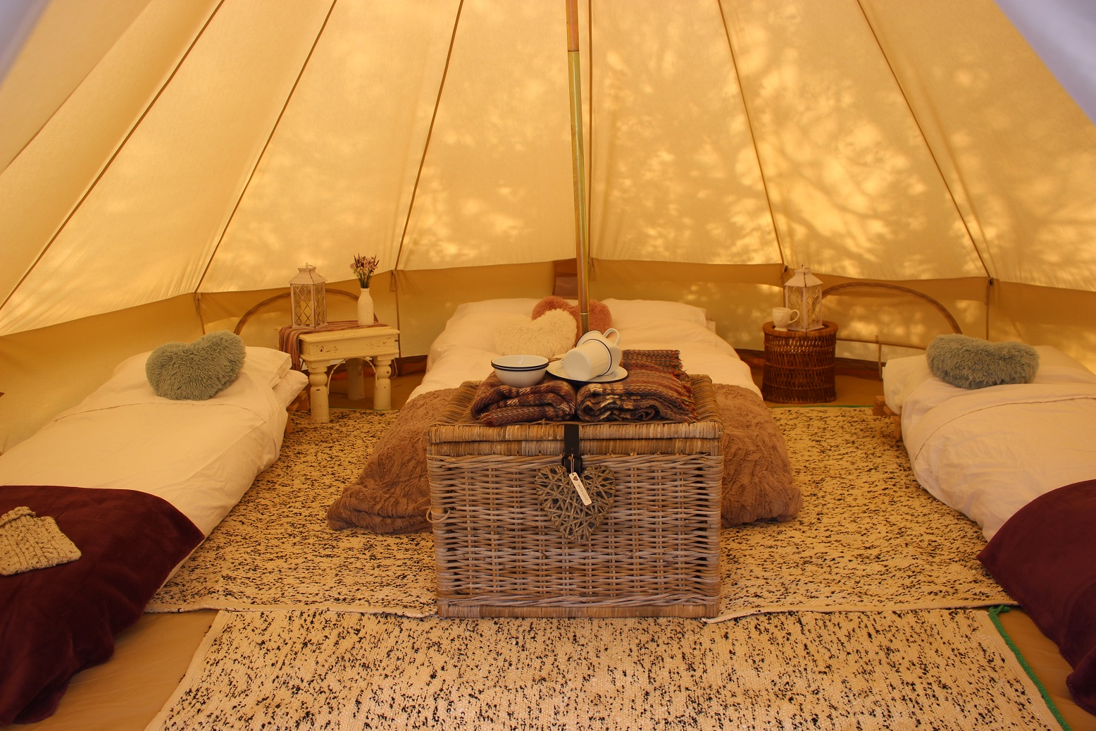 Fully Furnished Tents