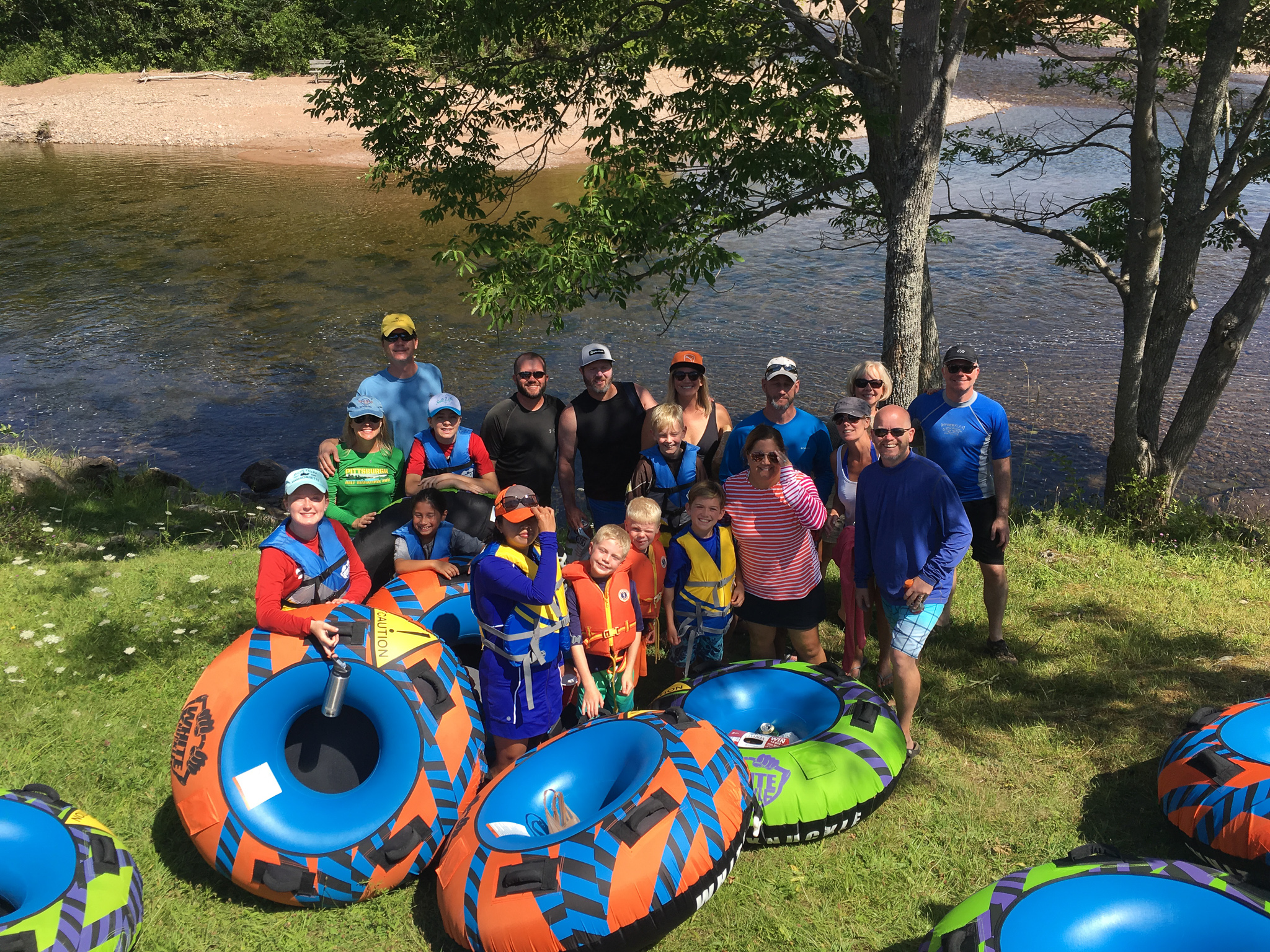 Tube the Margaree River