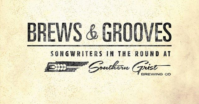 Nashville friends! Come out to @southerngristbrewing Wednesday at 7 PM! 🍺🎶
