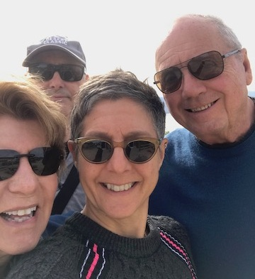 Me, Chris, Mom and Dad 2019