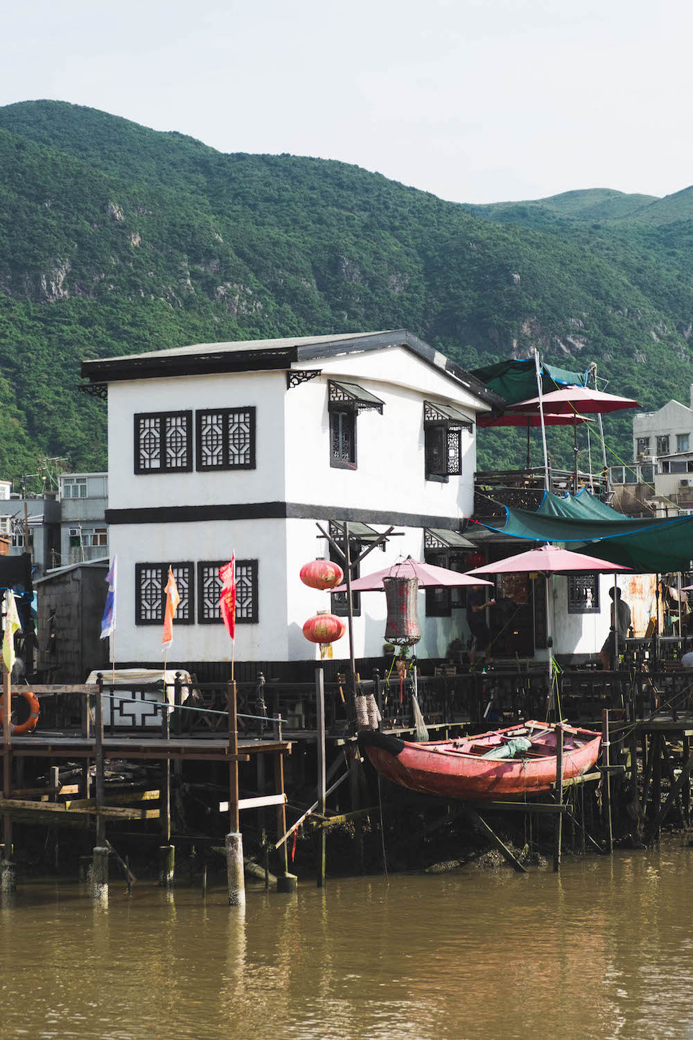 When I tell my mother I'm going to Tai O fishing village for the day, she tells me a few things:  - 1. Join a Chinese pink dolphin sightseeing tour.2. Go to Tai O Heritage Hotel.3. Bring her back salted eggs and shrimp paste.
