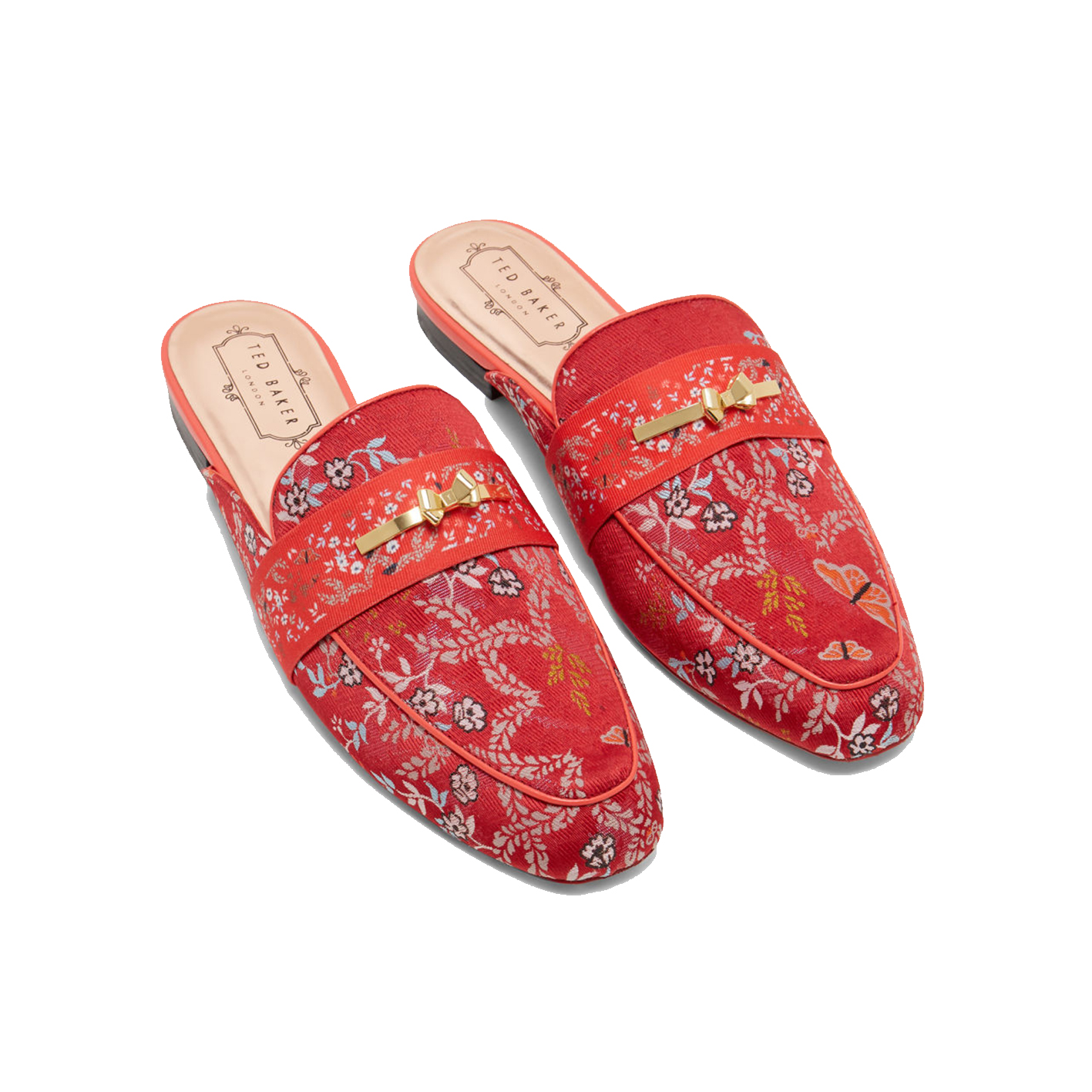 Backless Loafers in Kyoto Garden, £78, Ted Baker