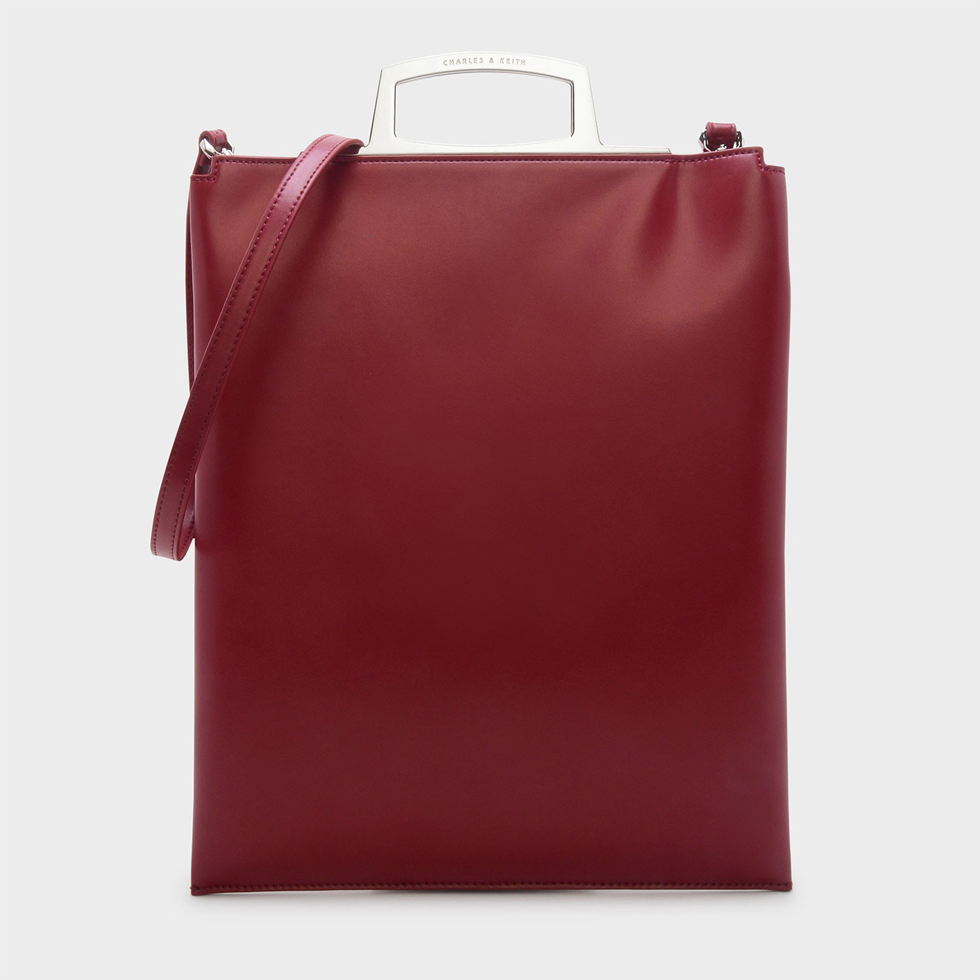 Metallic Handle Tote Bag, £69, Charles & Keith